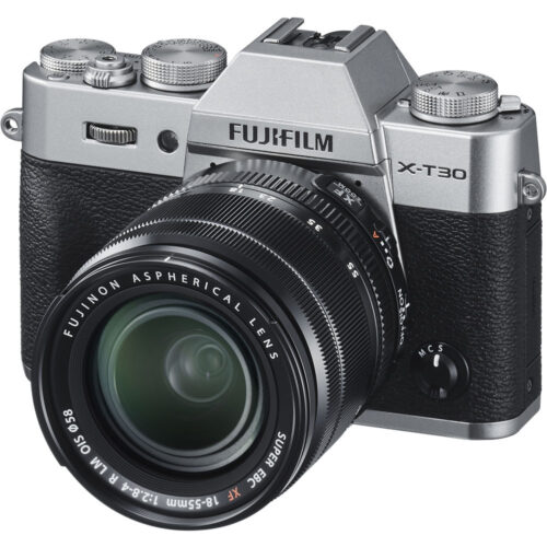 Fujifilm X-T30 ezüst + Fujinon XF 18-55mm objektív szett