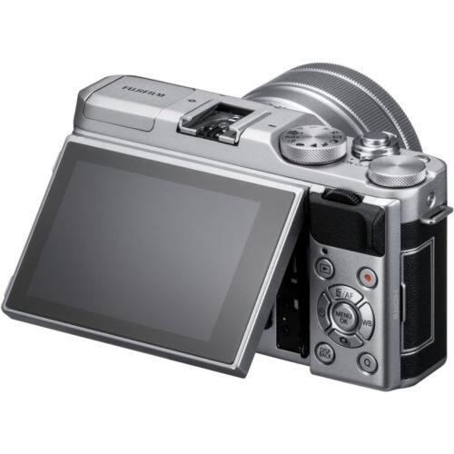 Fujifilm X-A5 váz + Fujinon XC 15-45mm objektív ezüst 2