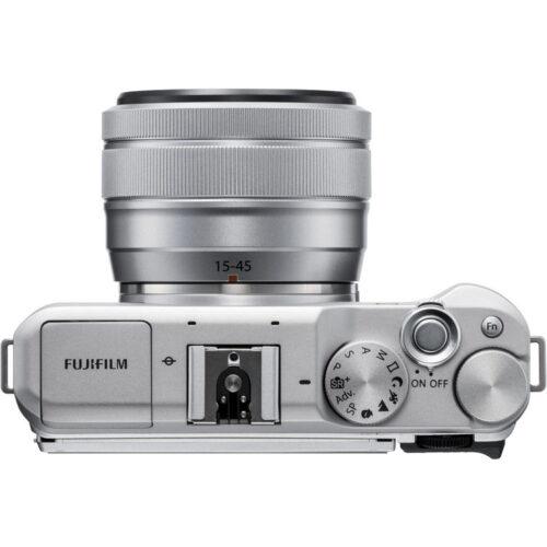 Fujifilm X-A5 váz + Fujinon XC 15-45mm objektív ezüst 6