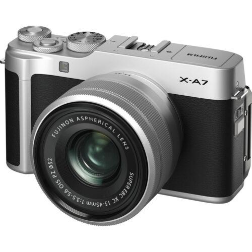 Fujifilm X-A7 váz + Fujinon XC 15-45mm objektív 1