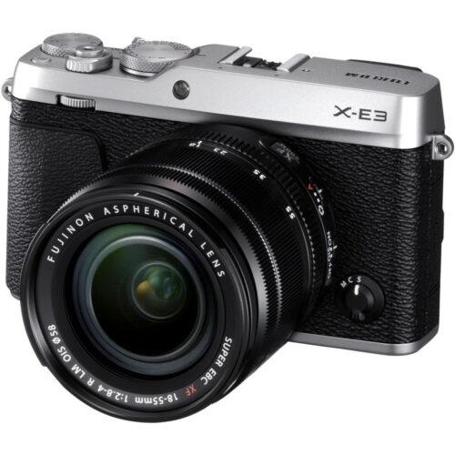 Fujifilm X-E3 váz + Fujinon XF18-55mm objektív ezüst 1