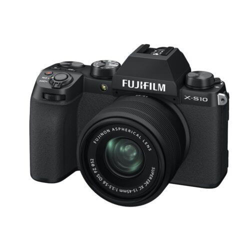 Fujifilm X-S10 fényképezőgép + XC 15-45mm F/3.5-5.6 objektív szett 1