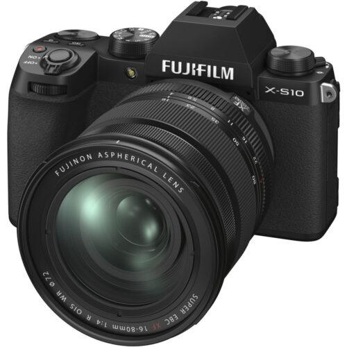 Fujifilm X-S10 fényképezőgép + XF16-80mm szett 1