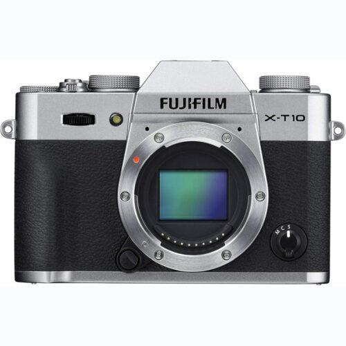 Fujifilm X-T10 fényképezőgép váz ezüst 1