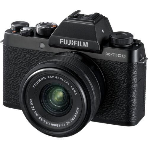 Fujifilm X-T100 váz + Fujinon XC 15-45mm objektív fekete 1