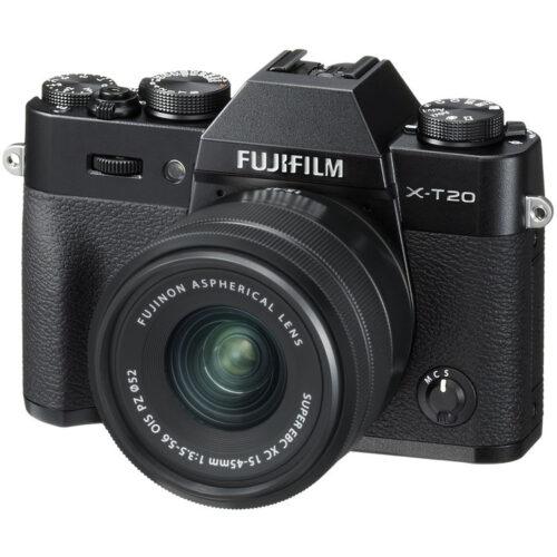 Fujifilm X-T20 váz + Fujinon XC 15-45mm objektív fekete 1