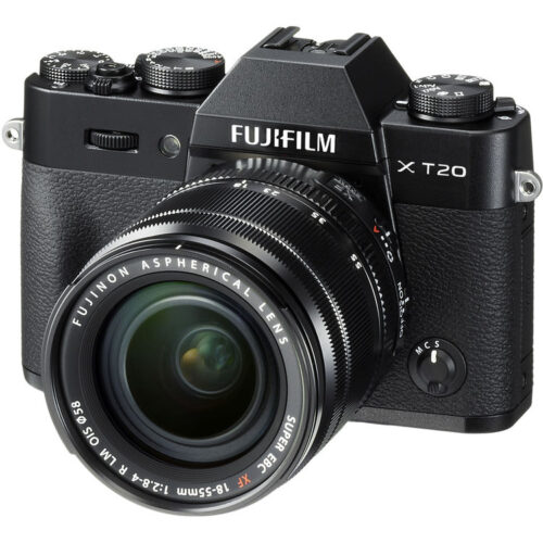 Fujifilm X-T20 váz + Fujinon XF 18-55mm F2.8-4 R objektív fekete 1
