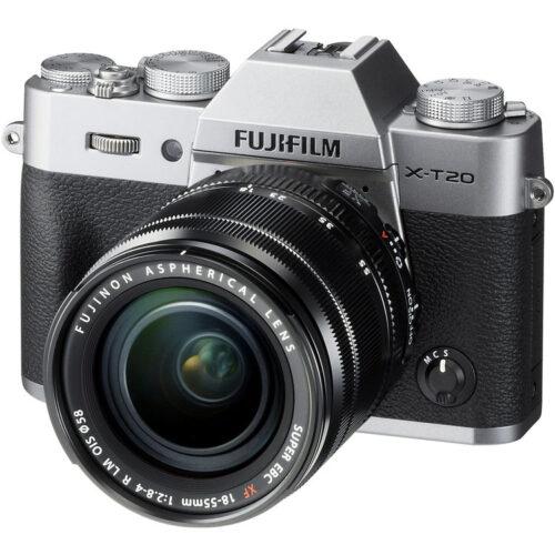 Fujifilm X-T20 váz + Fujinon XF 18-55mm F2.8-4 R objektív ezüst 1