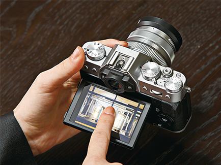 Fujifilm X-T20 KÉPKERESŐ ÉS ÉRINTŐKÉPERNYŐ