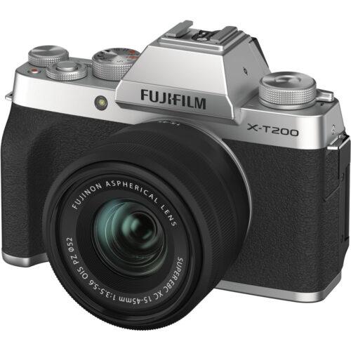 Fujifilm X-T200 + 15-45mm objektív szett ezüst 1