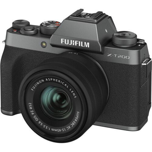 Fujifilm X-T200 + 15-45mm objektív szett sötét ezüst 1
