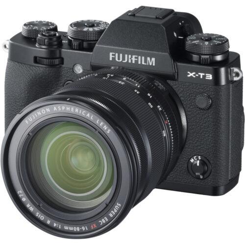 Fujifilm X-T3 váz + Fujinon XF 16-80mm szett fekete 1