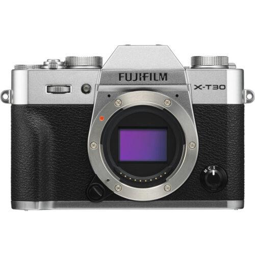 Fujifilm X-T30 fényképezőgép ezüst 1