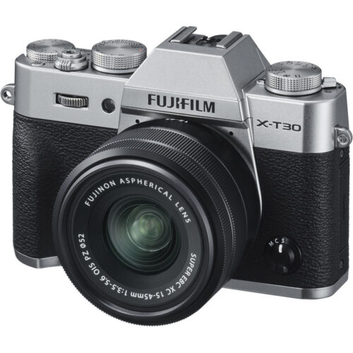 Fujifilm X-T30 + 15-45mm objektív szett ezüst 1