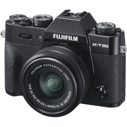 Fujifilm X-T30 + 15-45mm objektív szett fekete 1