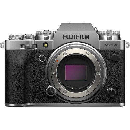 Fujifilm X-T4 fényképezőgép ezüst 1