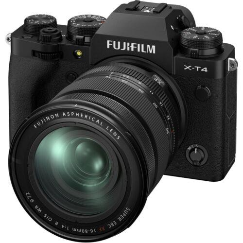Fujifilm X-T4 szett 16-80mm F4 fekete 6