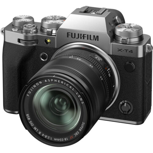 Fujifilm X-T4 szett XF 18-55mm ezüst 6