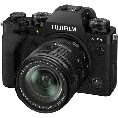 Fujifilm X-T4 szett XF 18-55mm fekete 6